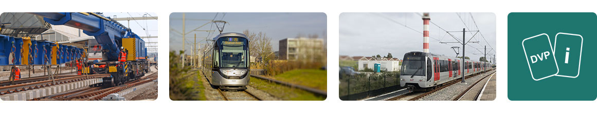 DVP - metro, tram en trein